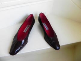 Pollini rode vintage shoes (2411)