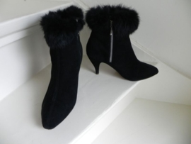 VINTAGE sexy high heels bont laarzen (1893)