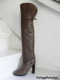 Mignani overknee kalfsleren boots (2213)