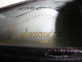 Alexandria red granny shoes (2315)