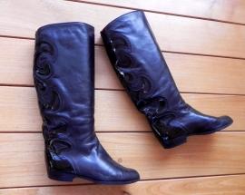 Brunella kalfsleren vintage laarzen (nr. 1418)