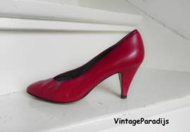 Leltz sexy rode high heels pumps (2431)