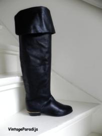 Mary Ann overknee piraten laarzen (2600)