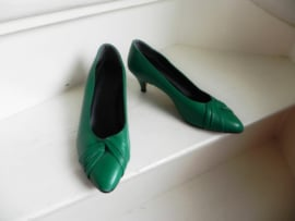 Sixties green sexy pumps (2549)