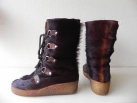 Metzeler vintage bont vacht laarzen (nr. 1434)