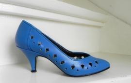 Studio Diego sexy blauwe pumps (1973)