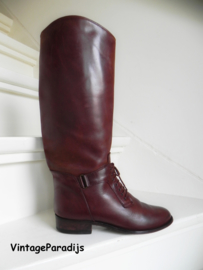 Stoere rundleder cavallerie boots (2336)