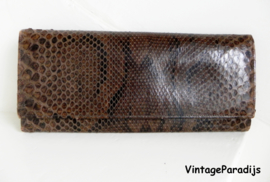 Snake clutch portemonnee bag (2364)