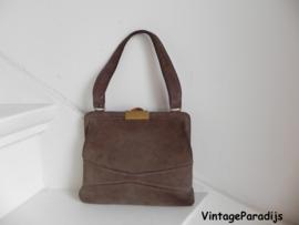Taupe cute tas handbag (2444)