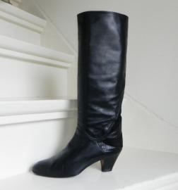Designer omslag hoge laarzen boots (Pollini K&S)