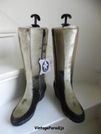 Luna Eskimod lamsbont bont laarzen sleehak boots (2541)