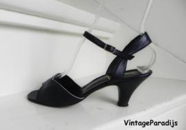 Studio Empress peeptoe slingback pumps (2428)