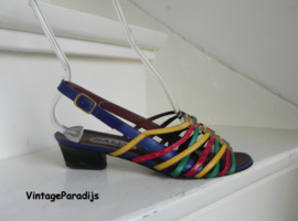 Bally sexy sandals peeptoe pumps multicolour (2531)