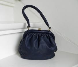 Delco vintage handtas tas bag (2067)