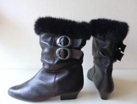Trendy bontlaarzen (nr. 1082)