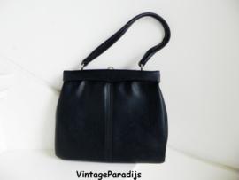 Vintage kniptas croco bag (2381)