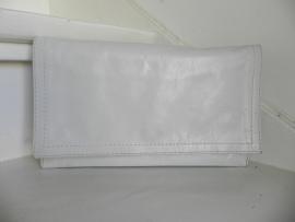 vintage roomwitte clutch schoudertas (2105)