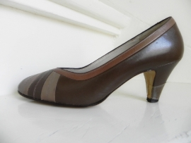 Weltschuh sexy taupe pumps (1940)