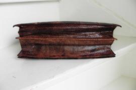 snake python clutch schoudertas (2516)