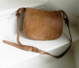 Vintage Saddle bag tas schoudertas (2011)