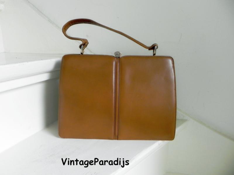 Vintage bag handtas kniptas (2514)