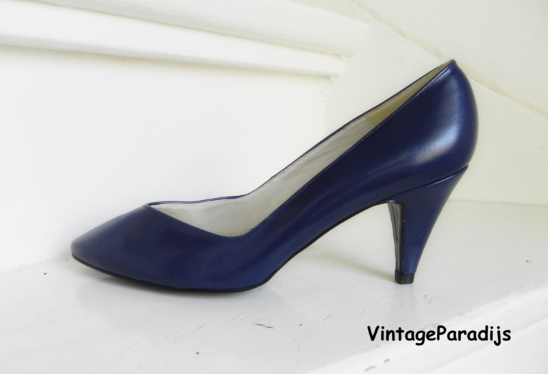 Bally exclusieve basis pumps blue (2476)