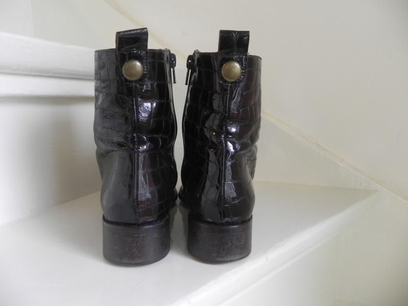 Lodi vintage lak croco laarzen (1760) | Vintage laarzen maat