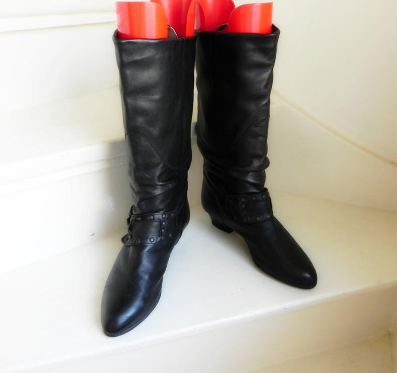 Take Five slouchy studs cowboy boots (2489) | Vintage