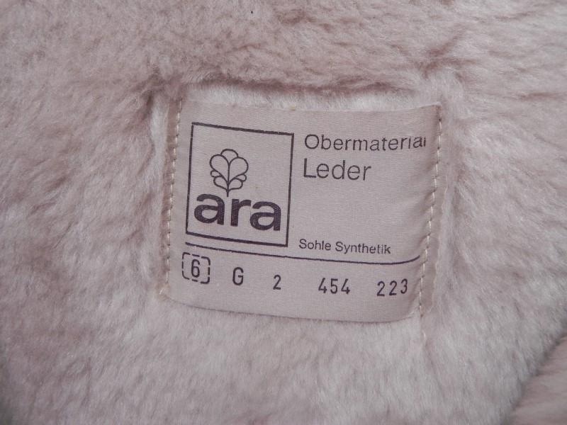 Ara vintage lams bont laarzen sleehak (nr. 1359) | Verkochte