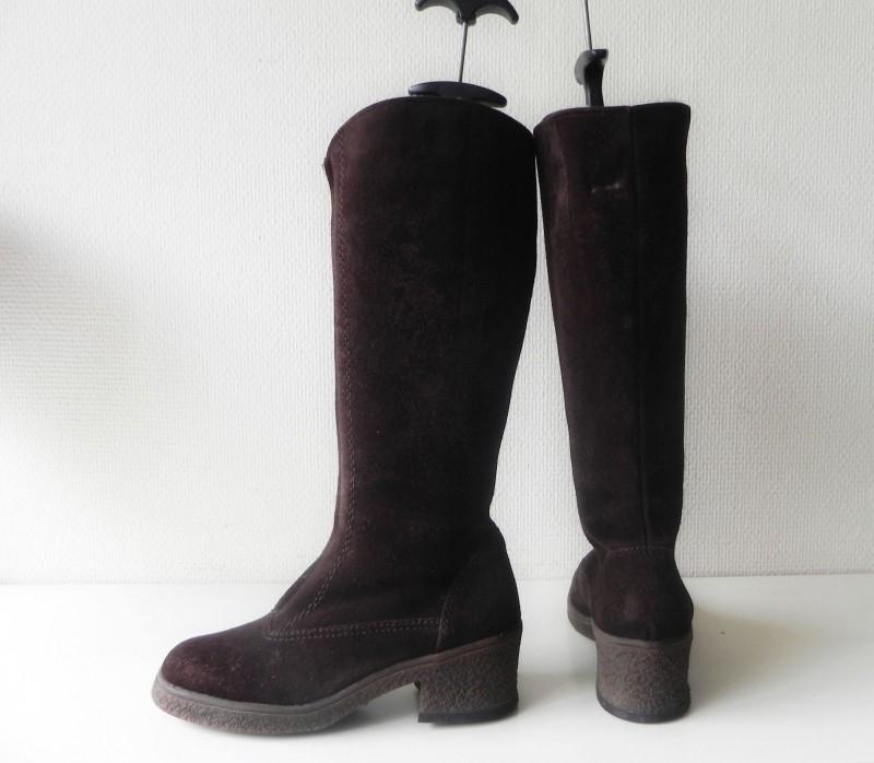Bama stoere lams bont laarzen (nr. 1554) | Vintage laarzen