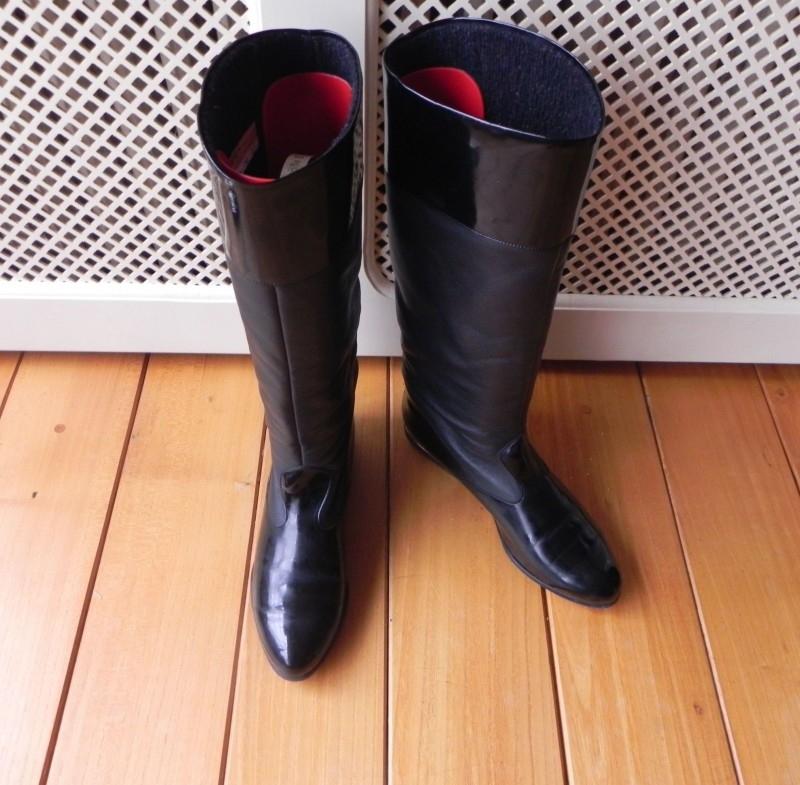 Salamander lak laarzen (nr. 1360)   Verkochte vintage