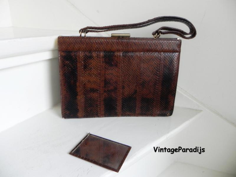 Blok van Heyst Heijst designers snake handbag tas (2537)