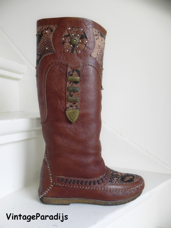 Buttero indianen cowboy boots (2392)