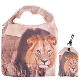 Boodschappentas (vouwtas) - leeuw - Esschert Design