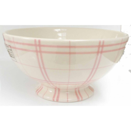 Saladeschaal - ruit roze - Kitchen Trend Products