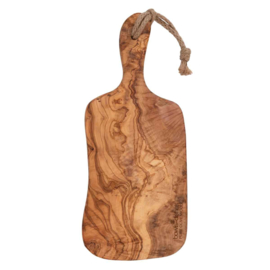 Plank olijfhout (handgreep) - 40 t/m 45 cm. - Bowls and Dishes
