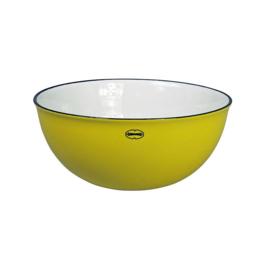 Saladeschaal - salad bowl - geel - Cabanaz