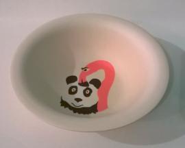Hungry flamingo - diep kinderbord - Zuperzozial