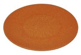 Large bite plate - bord oranje - Zuperzozial