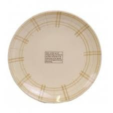 Bord - ruit taupe - Kitchen Trend Products