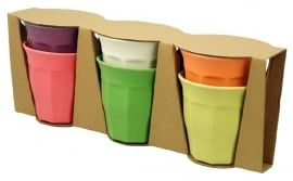 Cupful of colour - bekerset L - rainbow - Zuperzozial