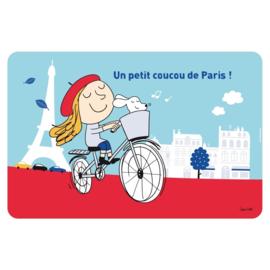 Placemat - coucou de Paris - Derriere la porte