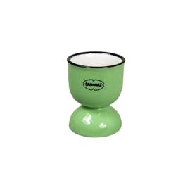 Eierdop - egg cup - groen - Cabanaz