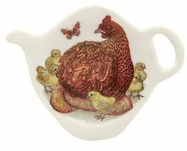 Schoteltje voor theezakjes - kip - Vanessa Lubach