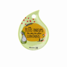 Schoteltje voor theezakjes - mes petits parfums - Derriere la porte