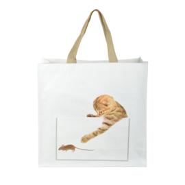 Boodschappentas - kat en muis - Esschert Design