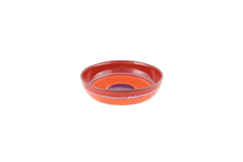 Schaal met lage rand (rood) - SolO - Bowls and Dishes