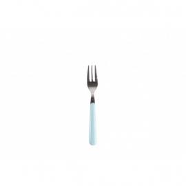 Gebaksvork / dessertvork lichtblauw - brio - Eme Inox Italy