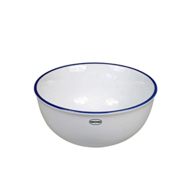 Kom - cereal bowl - emaille look - wit - Cabanaz