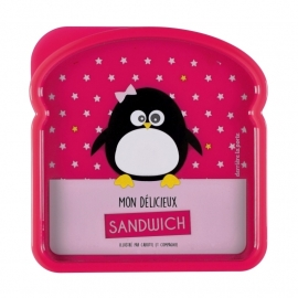 Lunchbox - pinguin - Derriere la porte